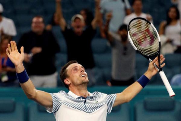 SB01. MIAMI (EE.UU.), 26/03/2019.- El tenista español Roberto...