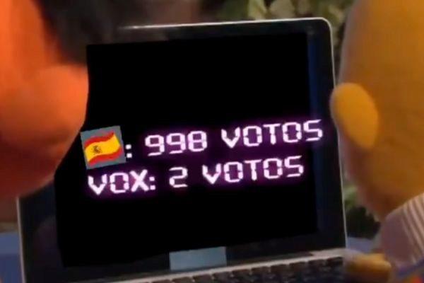 Vídeo sobre las elecciones en España protagonizado por Epi y Blas.