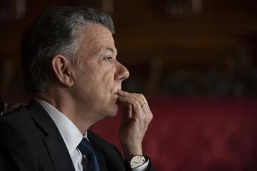 """Juan Manuel Santos: """"La intervención militar en Venezuela sería el peor de los errores"""""""