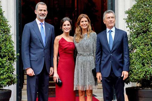 El inesperado discurso sobre Cataluña que escuchó el Rey en Buenos Aires