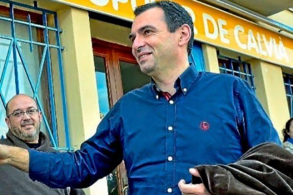 El líder del Partido Popular en Calvià, José Manuel Ruiz.
