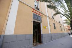Fachada de la Comandancia de la Guardia Civil de Alicante.