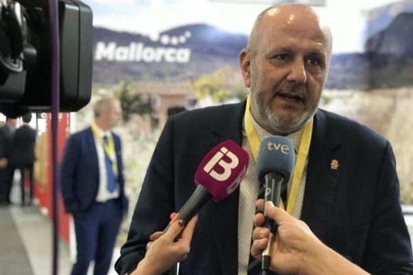 El presidente del Consell de Mallorca, Miquel Ensenyat.