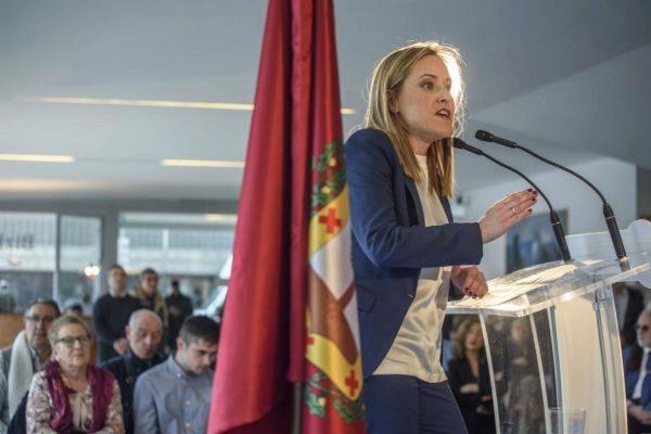 Amaya Fernández, candidata del PP en Bizkaia.