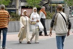 Mujeres inmigrantes en Bilbao.
