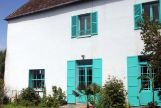 La Casa Azul de Monet en la localidad de Giverny fue restaurada en 2016.