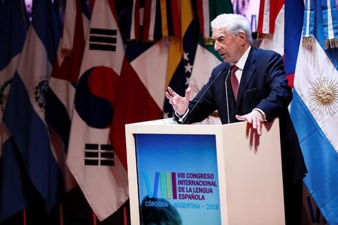 Vargas Llosa, en el VII Congreso Internacional de la Lengua Española.