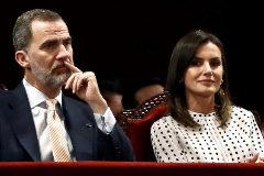 GRAF1023. CÓRBOBA (ARGENTINA).- Los reyes Felipe VI y <HIT>Letizia</HIT>, durante la sesión inaugural del VIII Congreso Internacional de la Lengua Española (CILE).