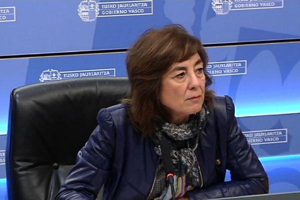 Cristina Uriarte, consejera de Educación.