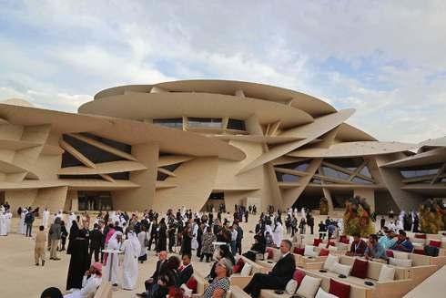 Aspecto del museo durante la inauguración.