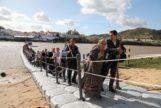 Puente flotante de Alcoutim a Sanlúcar de Guadiana