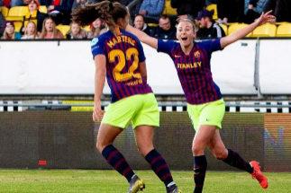 El Barcelona jugará su segunda semifinal de la Champions femenina
