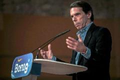"Aznar, a Vox: ""Nadie me habla de derechita cobarde a la cara"""