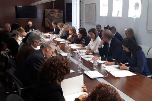 Sessió plenària del Consell Valencià de Cultura el 25 de març a Alacant.