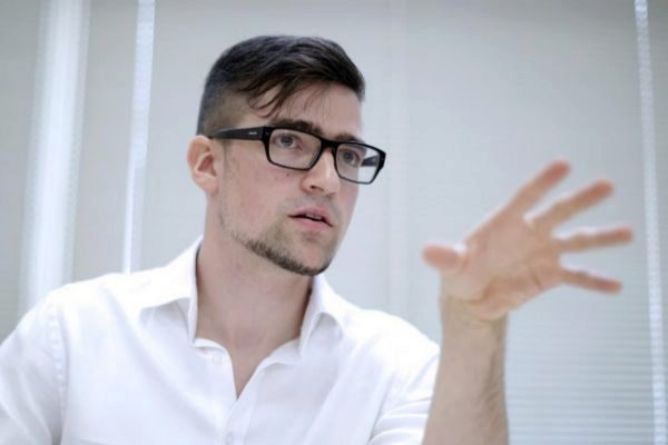 El líder del Movimiento Identitario austríaco Martin Sellner.