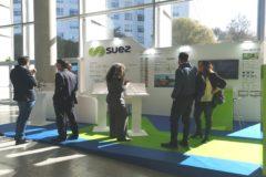Expositor del grupo Suez en la Feria de AEAS Valencia.