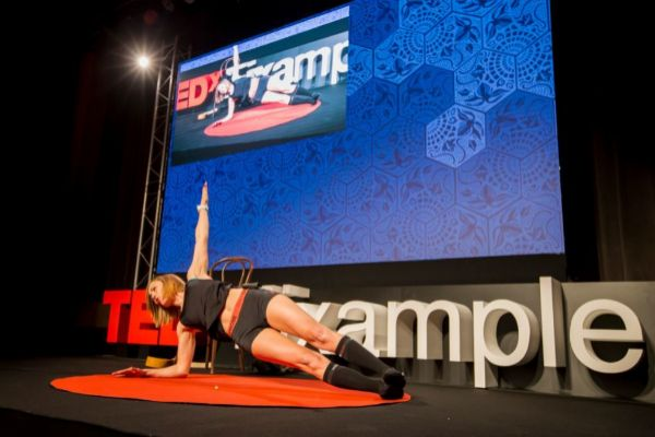 Deporte en las charlas TEDx