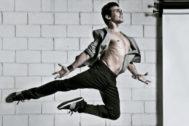 El bailarín Joaquín Luz.