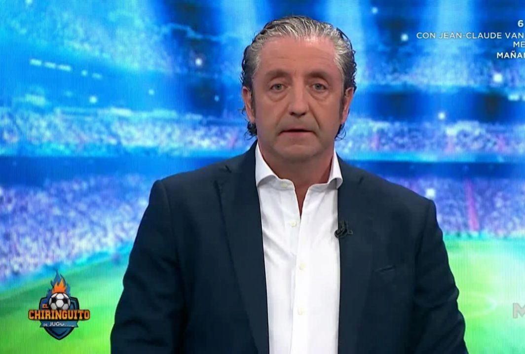 Josep Pedrerol ha estado ausente esta semana en Jugones y El...