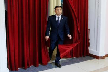 El cómico y candidato a presidente, Volodymyr Zelensky.