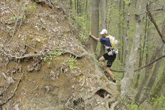 Jared Campbell en la Barkley Marathons, en 2012.