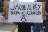 Uno de los carteles en la manifestación de Córdoba (Argentina).
