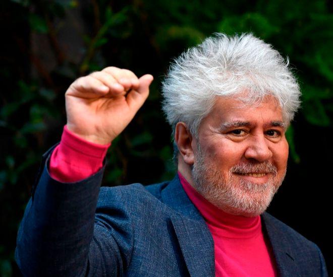 Pedro Almodóvar en la presentación de la película