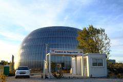 El único edificio del Campus de la Justicia que se contruyó.