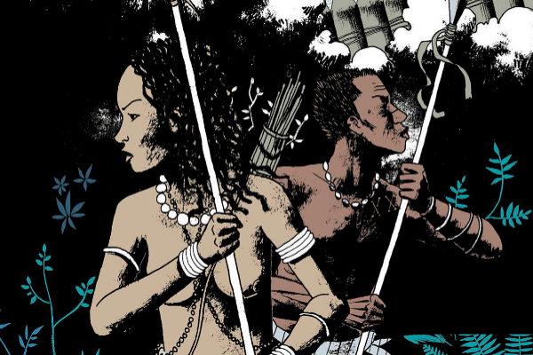 Detalle de la portada de 'Angola Janga' (Flow Press) de Marcelo D'Salete.