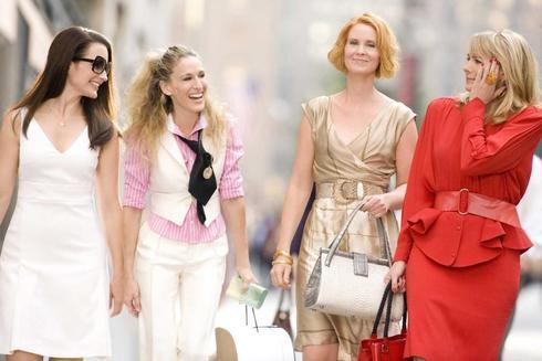Fotograma se la serie 'Sexo en Nueva York'.