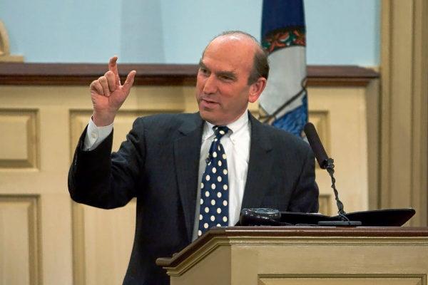 El enviado especial de Estados Unidos para Venezuela, Elliott Abrams.
