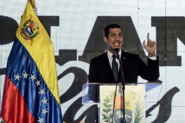 Juan Guaidó fue inhabilitado ayer por el régimen de Maduro.