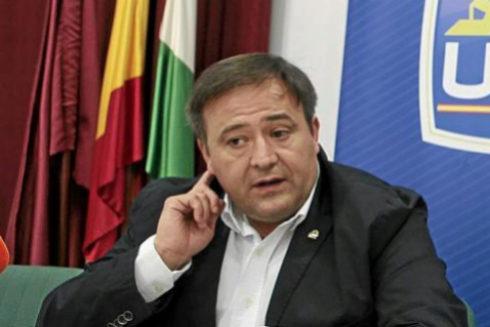 El líder del sindicato UFP, Víctor Duque