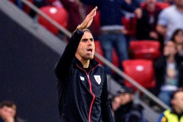 GRAF5602. Bilbao.- El técnico del Athletic, <HIT>Gaizka</HIT> <HIT>Garitano</HIT>, durante el encuentro correspondiente a la jornada 28 de primera división que disputan esta tarde frente al Atlético de Madrid en el estadio de San Mamés, en Bilbao.
