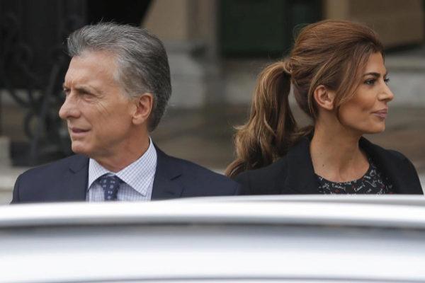 Mauricio Macri y Juliana Awada, el miércoles en Córdoba.