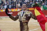 El Cid cortó la única oreja de la tarde en su despedida de Castellón.