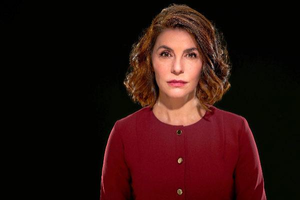 La actriz Ana Fernández en una imagen promocional de 'La culpa', la obra de David Mamet que llega estos días al Teatro Olympia de Valencia.