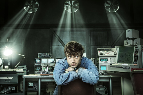Daniel Radcliffe, en 'Miracle Workers'.