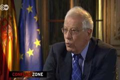 """Borrell tras abandonar la entrevista: """"Bastante paciencia tuve"""""""