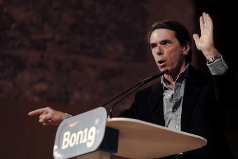 El ex vicepresidente del Gobierno, José María Aznar.