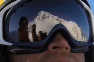 Shane McConke, en una estación de esquí.