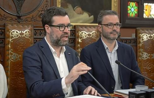 Antoni Noguera y José Hila.