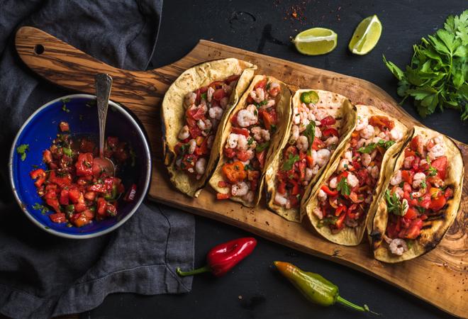Oreja y sepia, queso y kikos... tacos de autor para gritar ¡Que viva México!