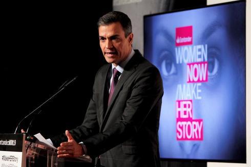 Pedro Sánchez, en un acto con mujeres en Madrid