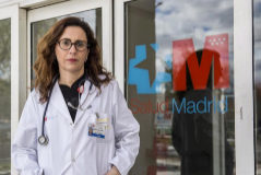 La doctora Carolina Pérez, una de las agredidas.