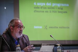 Pedro Rodríguez, presidente de la Federación de Sociedades Musicales.