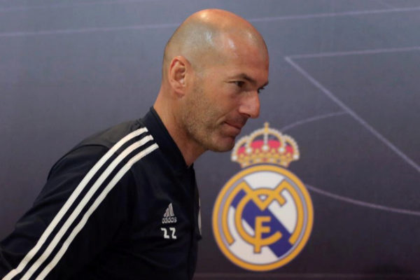 GRAF2405. MADRID.- El entrenador del Real Madrid, Zinedine...