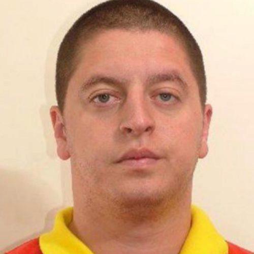 Roberto Izquierdo, 'Rober' o 'El Ruso' en una imagen de su ficha policial.
