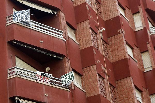 Viviendas en venta en un edificio de Castellón.