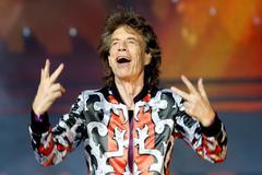 Mick Jagger, cantante de Rolling Stones, durante un concierto en Marsella en 2018.